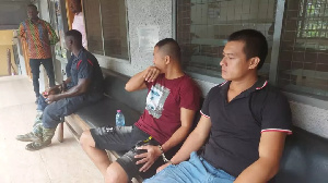 The Two Chinese nationals were arrested at Atieku