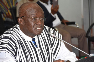 Minister of Aviation, Joseph Kofi Adda