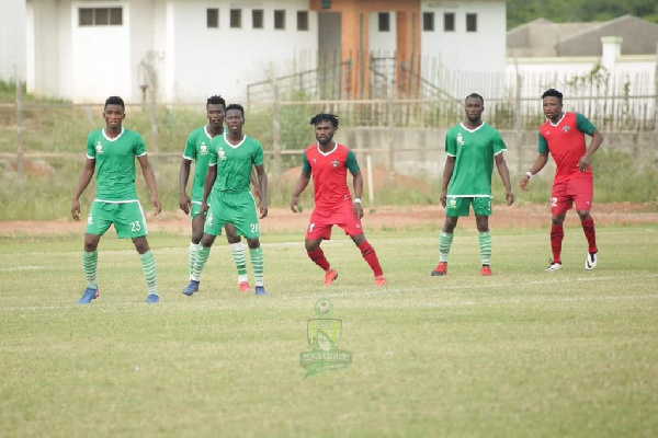 Elmina Sharks 1-1 Karela United