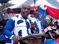 MP for Gomoa East, Kojo Asemanyi