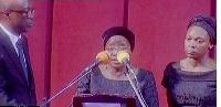 Matilda Amissah-Arthur, widow of the late Kwesi Bekoe Amissah-Arthur