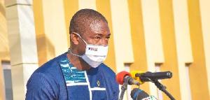 Deputy Health Minister, Dr Okoe-Boye