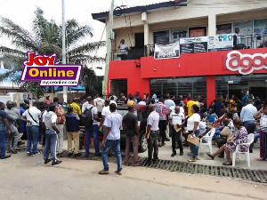 Menzgold customers are demanding their money from the investment firm and NAM1