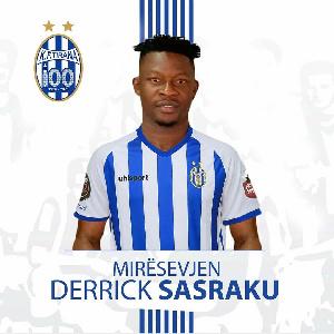Ghana international Derrick Sasraku
