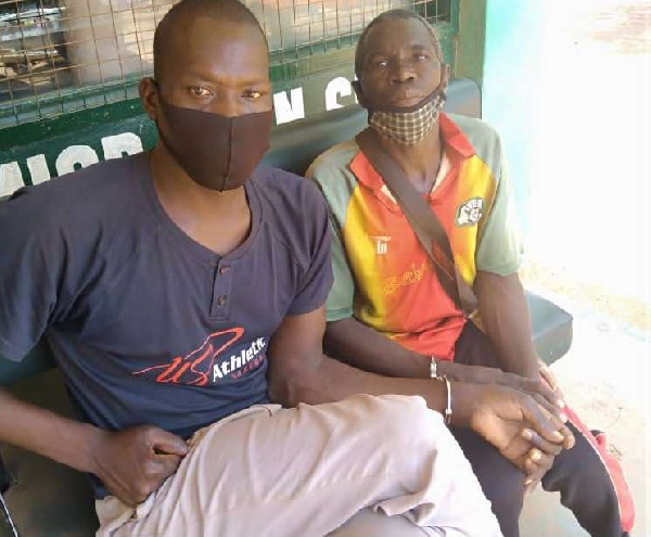 Four Burkinabes arrested at Babile check point for entering Ghana 'illegally'