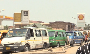 Commercial vehicles popularly known as trotro