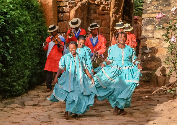 The Hiragasy is a musical tradition in Madagascar
