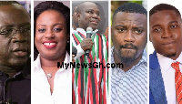 The following candidates may be on the shortlist of the NDC to vie for the late Agyarko's seat