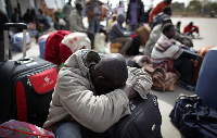Some migrants being auctioned off as slaves in Libya