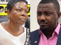 Ayawaso West Wuogon MP, Lydia Alhassan and NDC Parliamentary Candidate, John Dumelo