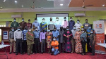 Photo of cross section of the participants at the training
