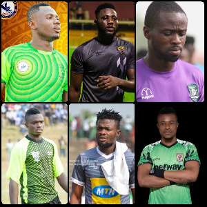 The 6 goalkeepers in the Ghana Premier League