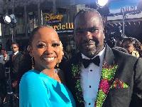 Ambassador Diallo and  Actress, Erika Alexander