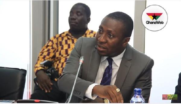 MP for Effutu constituency, Alex Afenyo Markin