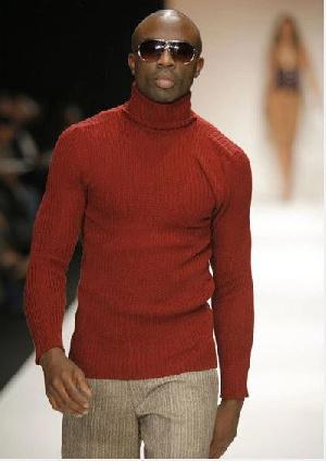 British-Ghanaian actor and model Sam Sarpong