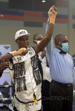Boxing returned to the Bukom Arena on Christmas eve