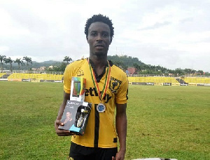 Ashantigold striker Shafiu Mumuni