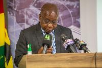 Health Minister Kweku Agyeman-Manu
