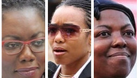 Some of the female MP's part of Ghana's 7th Parliament