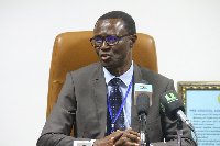 Rev. Ammishaddai Owusu-Amoah is the Commissioner-General of the GRA