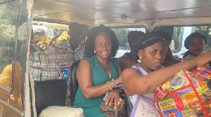 Madam Doyo Cudjoe,  MP for Ada