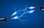 A photo of electrocution