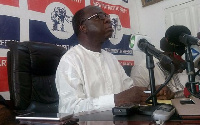 Acting Chairman of the New Patriotic Party (NPP), Freddie Blay