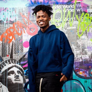Kwesi Arthur who was not present during the ceremony had his award picked up by his manager