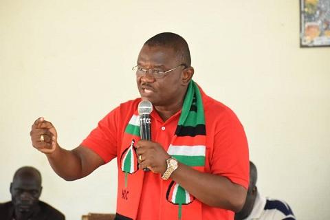NDC Flagbearer hopeful, Sylvester Mensah