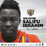 Hearts newboy Salifu Ibrahim pledges to give his best to the club