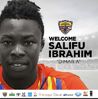 Salifu Ibrahim is now a player of Hearts of Oak