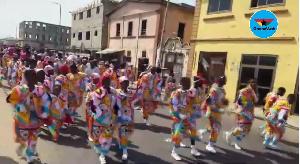 Some masquerades on the streets of Takoradi