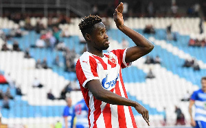 Red Star Belgrade striker, Richmond Boakye-Yiadom
