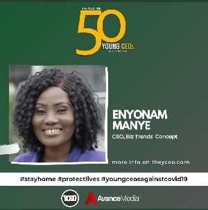 Enyonam Manye is one of the 50 personalities