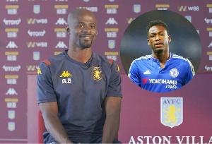 Former Aston Villa midfielder, George Boateng and Abdul Baba Rahman