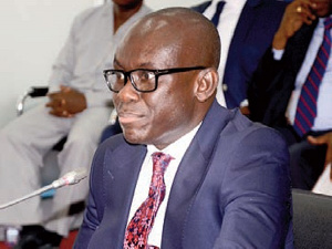 Mr Godfred Yebua Dame, Deputy Attorney General & Minister of Justice