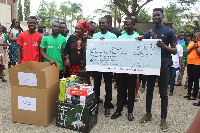 55 beneficiary businesses were awarded with funds and tooling, amounting to GH¢277,800.00