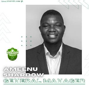 Football administrator, Ameenu Shadow
