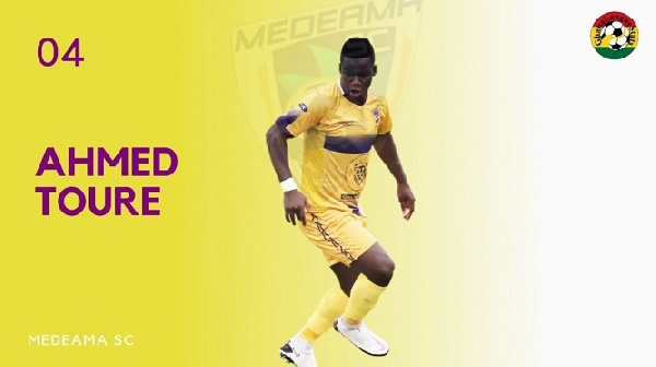 Fit-again Medeama striker Amed Toure available against WAFA