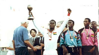 When Odartey Lamptey and his colleagues conquered the world