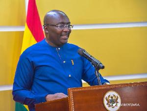 Vice President of Ghana,  Dr Mahamudu Bawumia