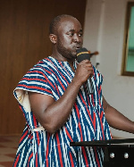 Isaac Bonsu is youth activist of the NPP