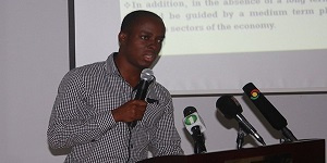 Policy Adviser for ACEP, Dr. Ishmael Ackah