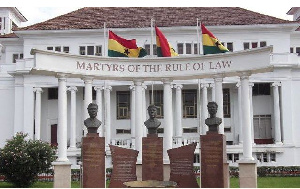 Premises of the Supreme Court of Ghana