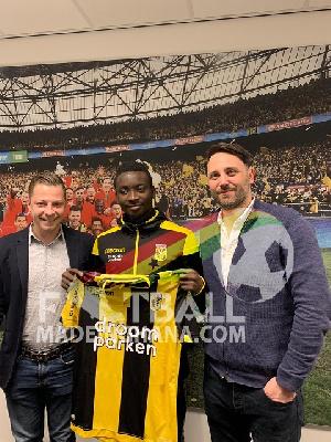 Dauda Mohammed has joined Vitesse on deadline day