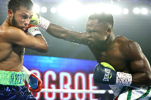 Dogboe defeated Avalos in round 8