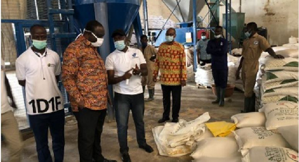 Govt supports Darko Farms with GH¢18m