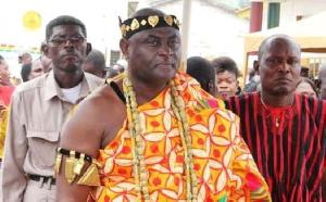 Nii Okwei Kinka Dowuona VI, the Paramount Chief of Osu