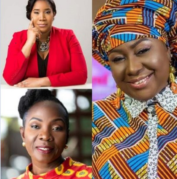 Uche Ofodile, Esther Cobbah and Oheneyere Gifty Anti