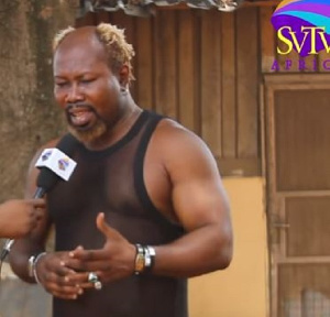 Michael Okine, popularly known as Ayittey Powers